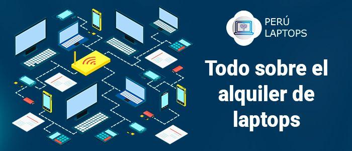 Alquiler de laptops y computadoras